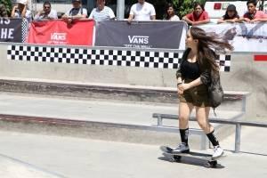 Mujeres en el skate