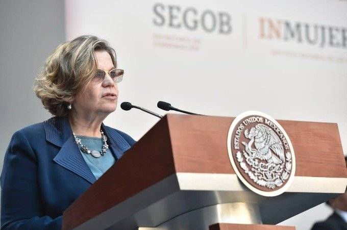 Nadine Gasman titular del Instituto Nacional de las Mujeres Foto: Cuartoscuro