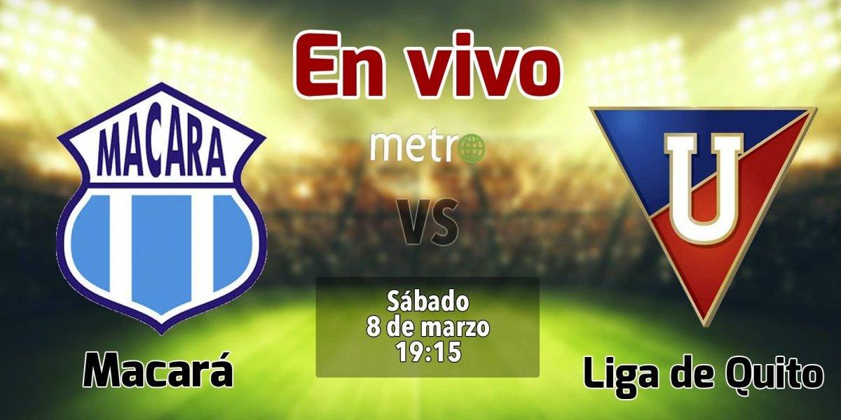 Liga pro Ecuador: Macará vs Liga de Quito. En vivo, donde ver el partido, hora y alienaciones