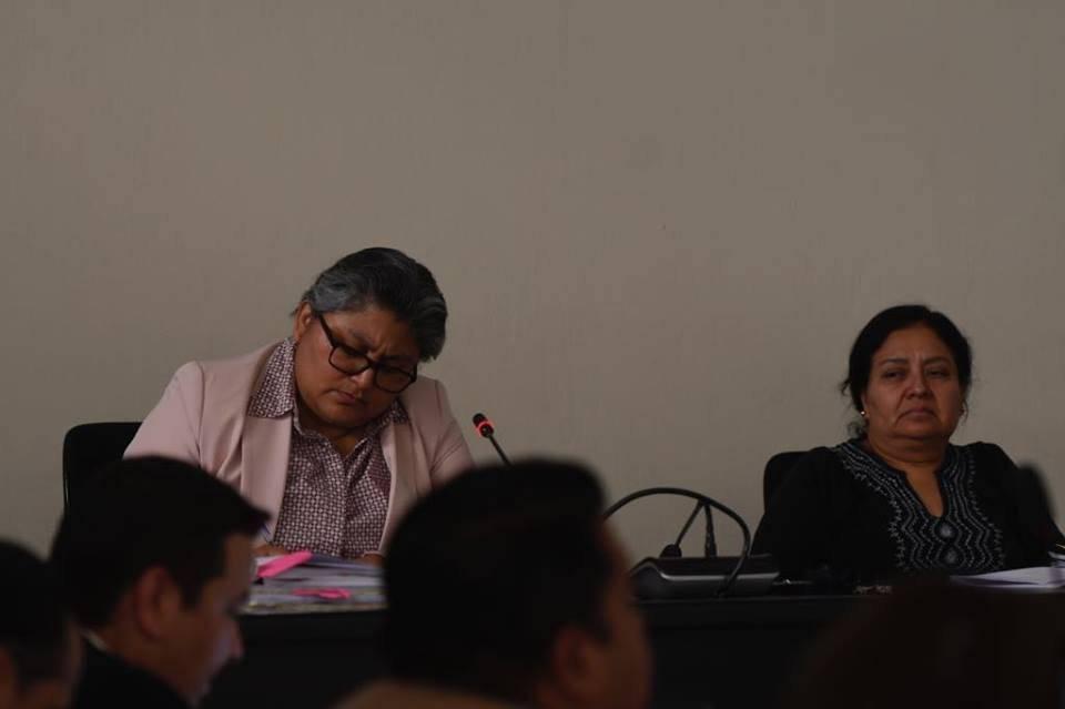 Jueza Magda Pérez confirmó la prisión preventiva a Carlos Rodas. Foto: Omar Solís