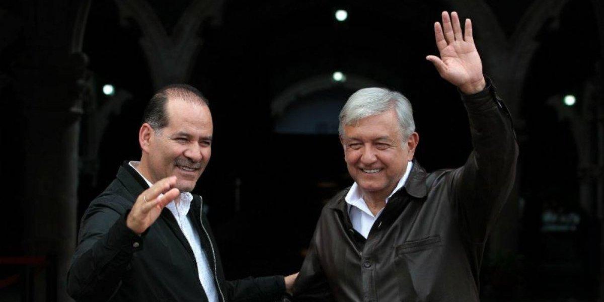 Gobernador de Aguascalientes no acude a evento de AMLO