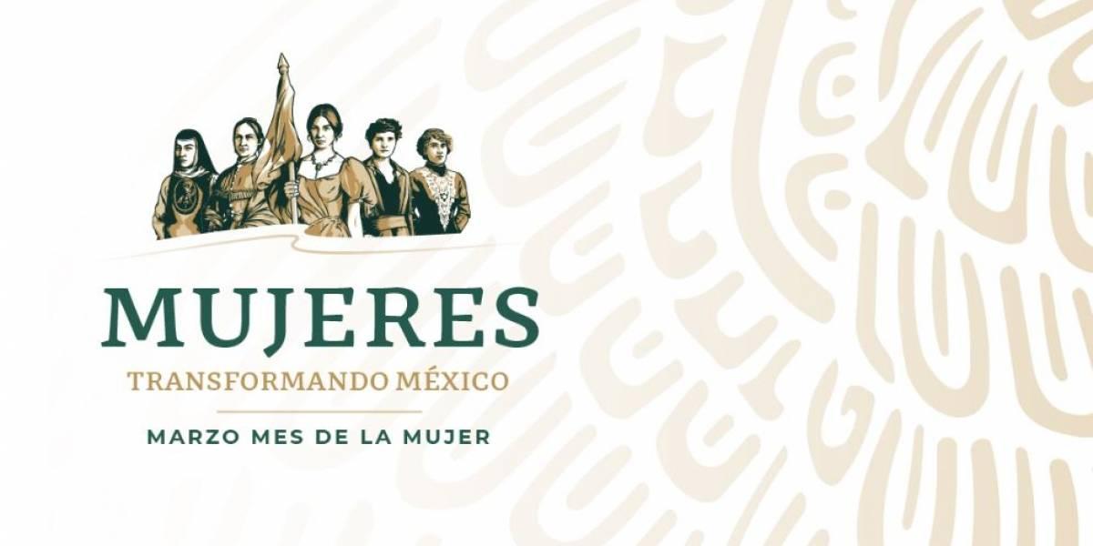 La nueva imagen del Inmujeres reconoce a cinco mexicanas destacadas