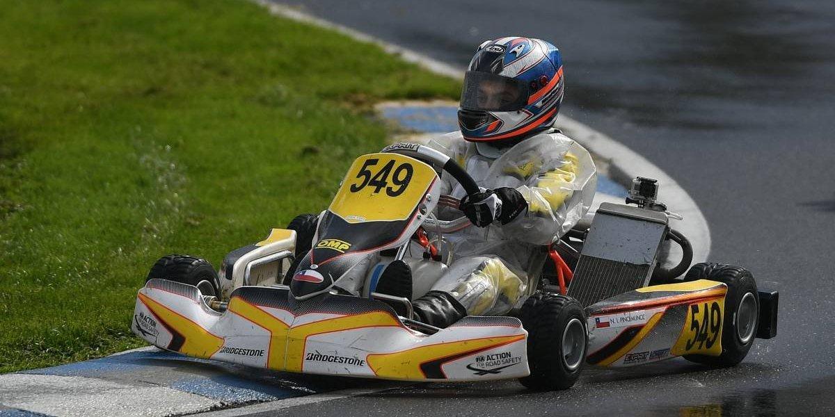 Nicolás Pino abre su temporada europea de karting