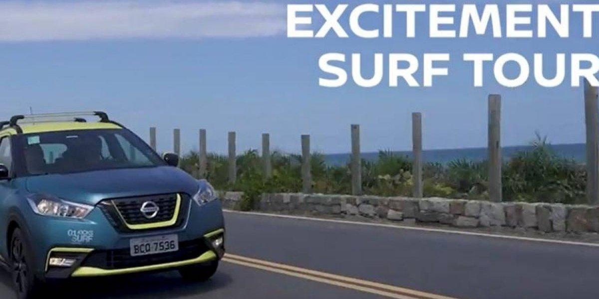 Nissan cierra su tour surfista con Kicks y Frontier