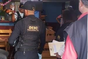 PNC realiza allanamientos por trata de personas.