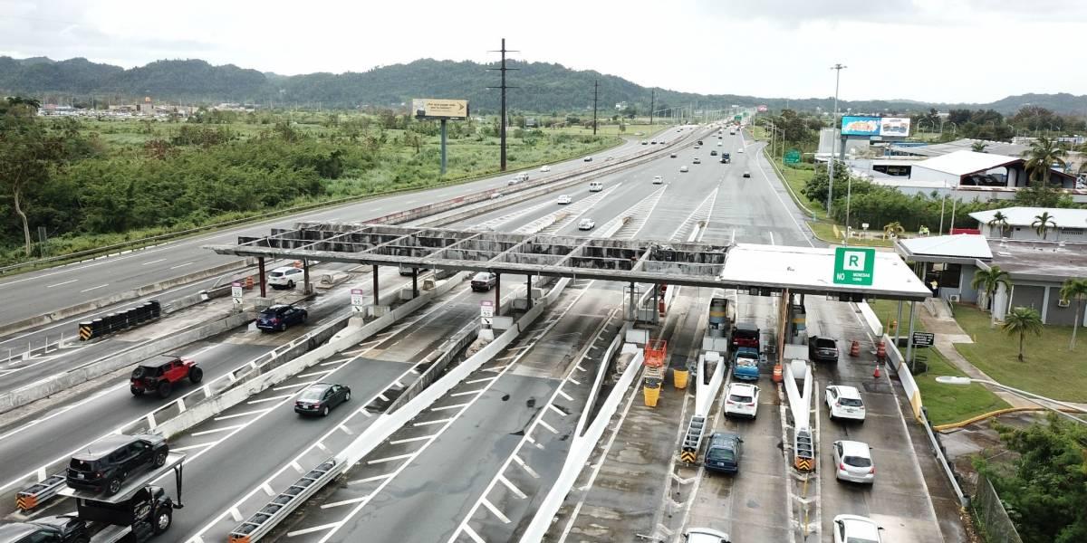Anuncian restricción de carriles en la Autopista PR-22 en dirección hacia Arecibo