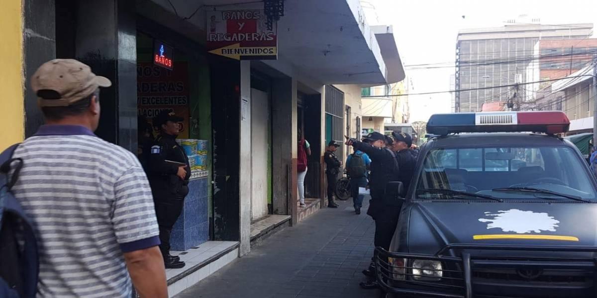 PNC captura a cuatro por vínculos con trata de personas en la zona 1