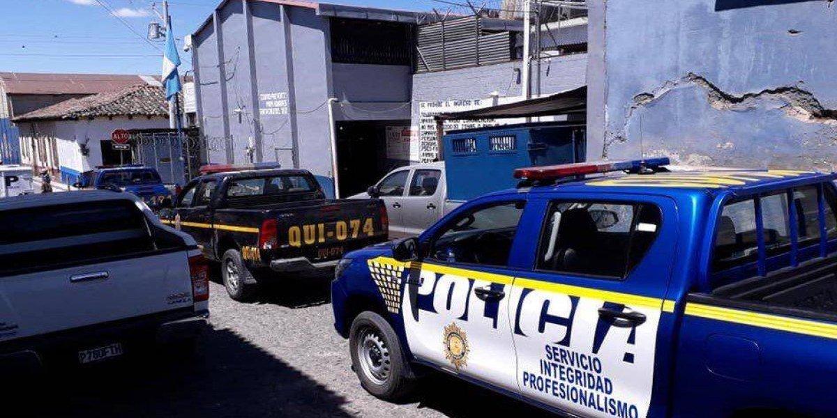 Quiché: Dos agentes penitenciaros son consignados durante requisa