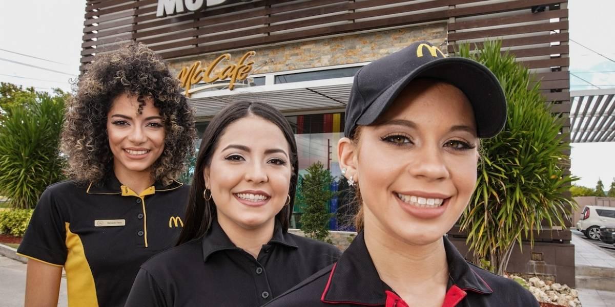 """""""Más mujeres mejor"""": la convicción de McDonald's"""