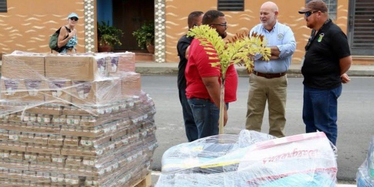'Johnny' Méndez lleva ayuda a Culebra