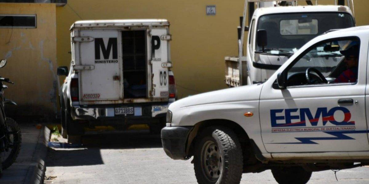 MP allana instalaciones de la Empresa Eléctrica de Quetzaltenango