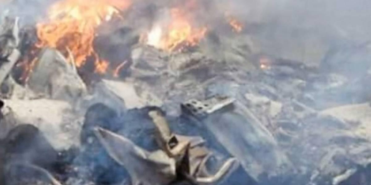 Doce muertos en accidente aéreo en Colombia