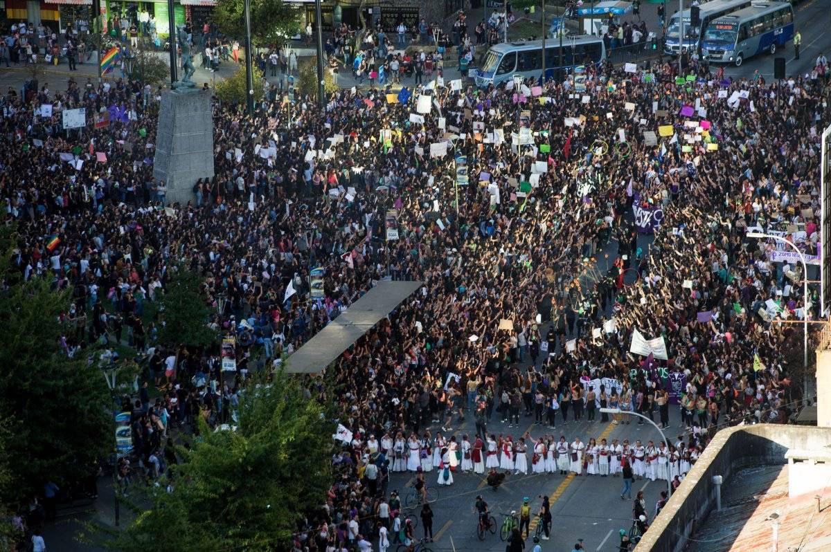 Marcha 8M Concepción