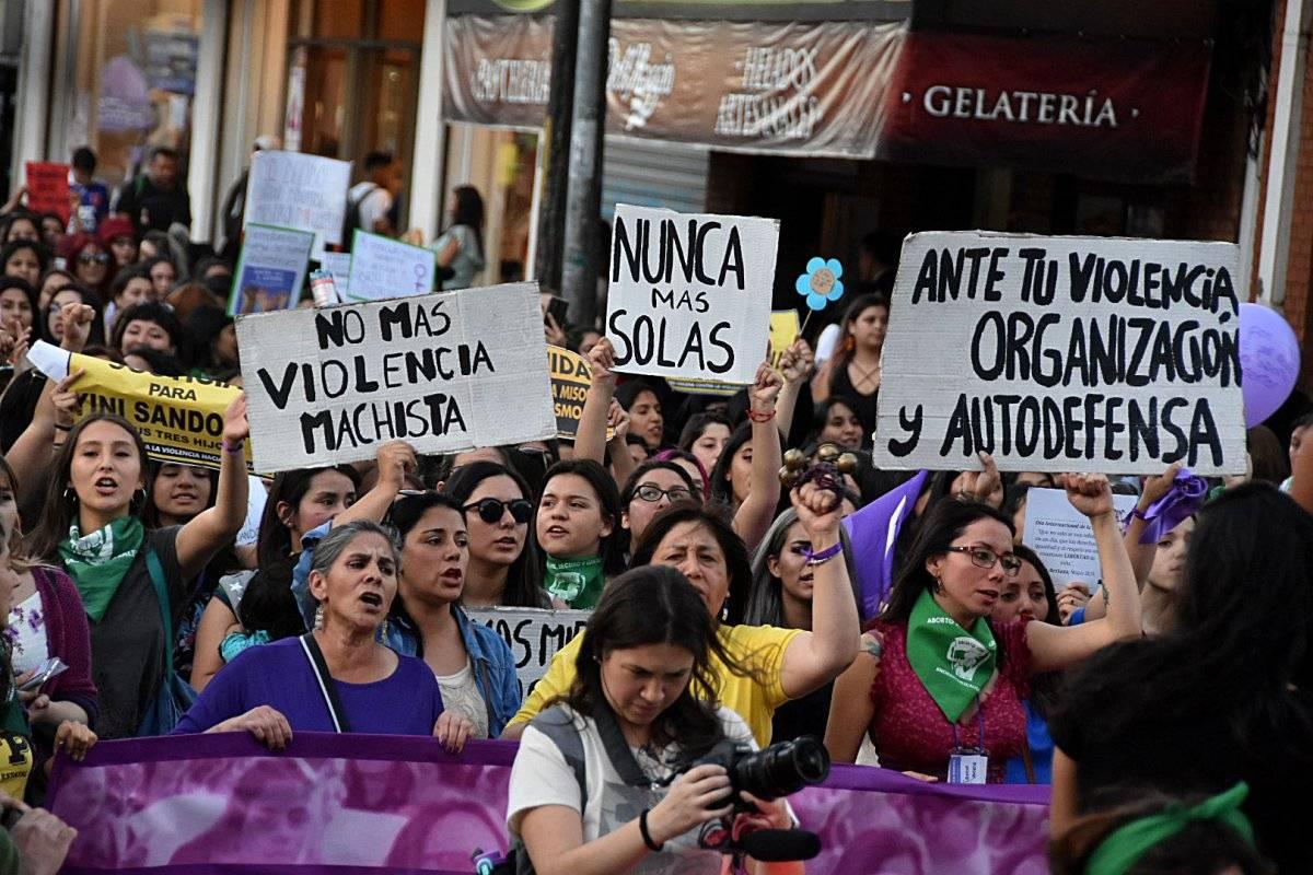 Marcha 8M Temuco