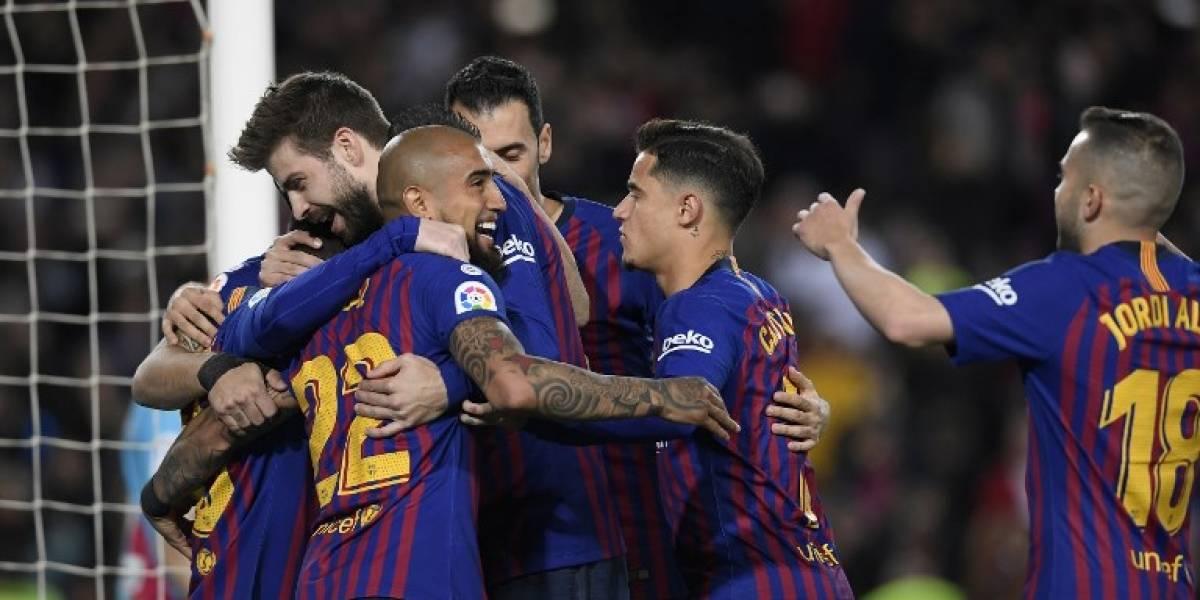 El Barça sigue mandando en la Liga tras imponerse al Rayo