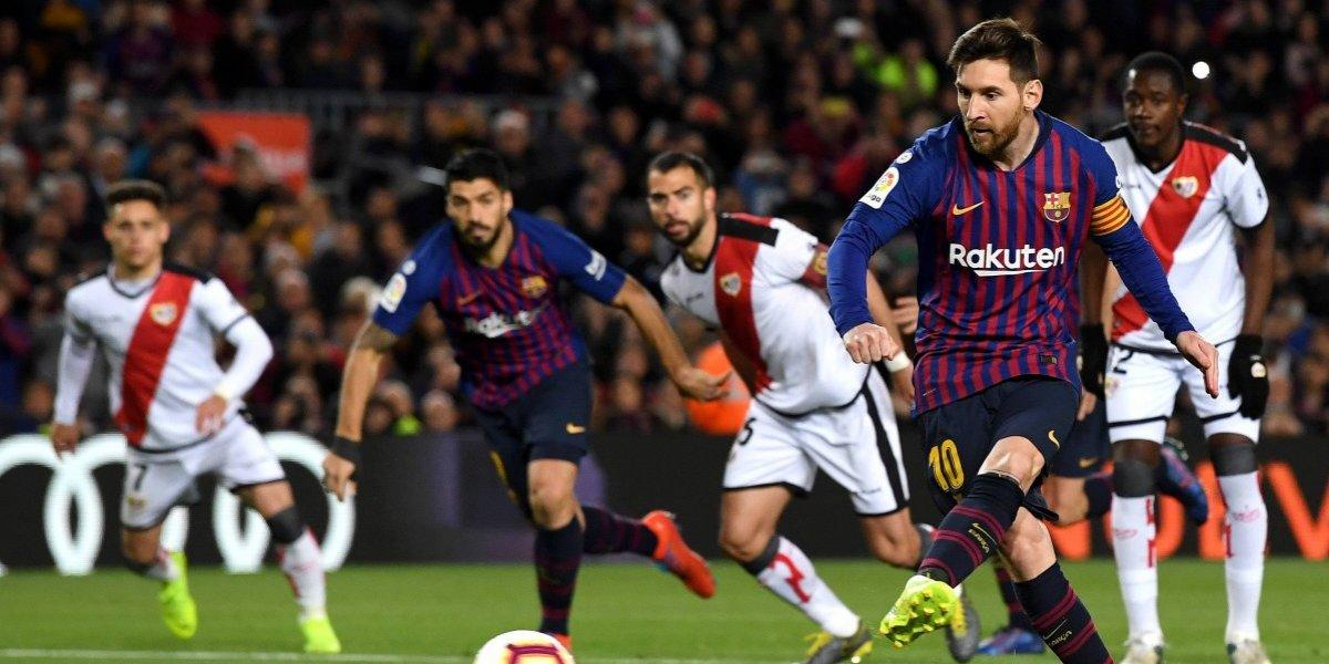 Barça le remonta al Rayo Vallecano y afianza liderato