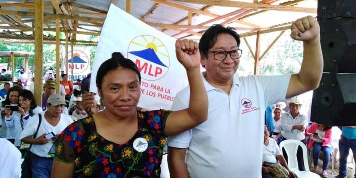 Evo Morales felicita la postulación del binomio del MLP