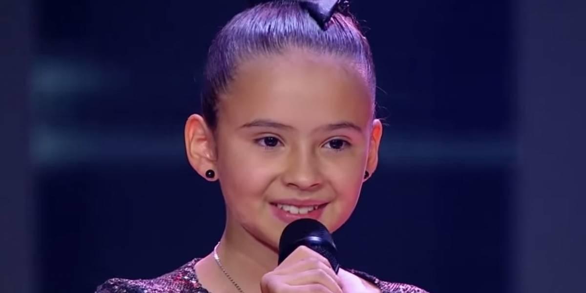 La niña que sorprendió con su madurez en La Voz Kids