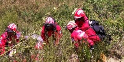 En el accidente de parapentista registrado en el cerro Auqui