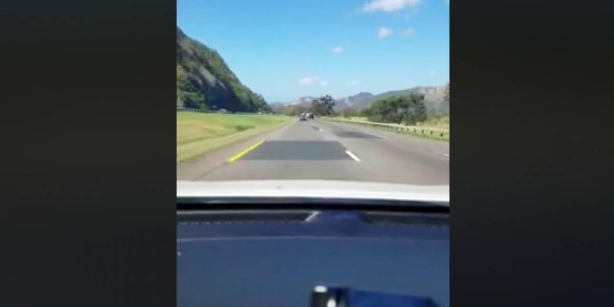 """Ciudadano molesto compara """"parchos en carreteras"""" con """"parchos en el Gobierno"""""""
