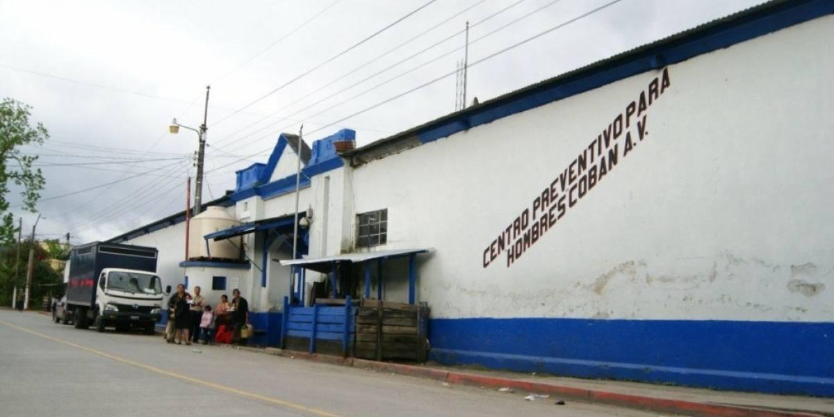 Capturan a un guardia penitenciario en Alta Verapaz