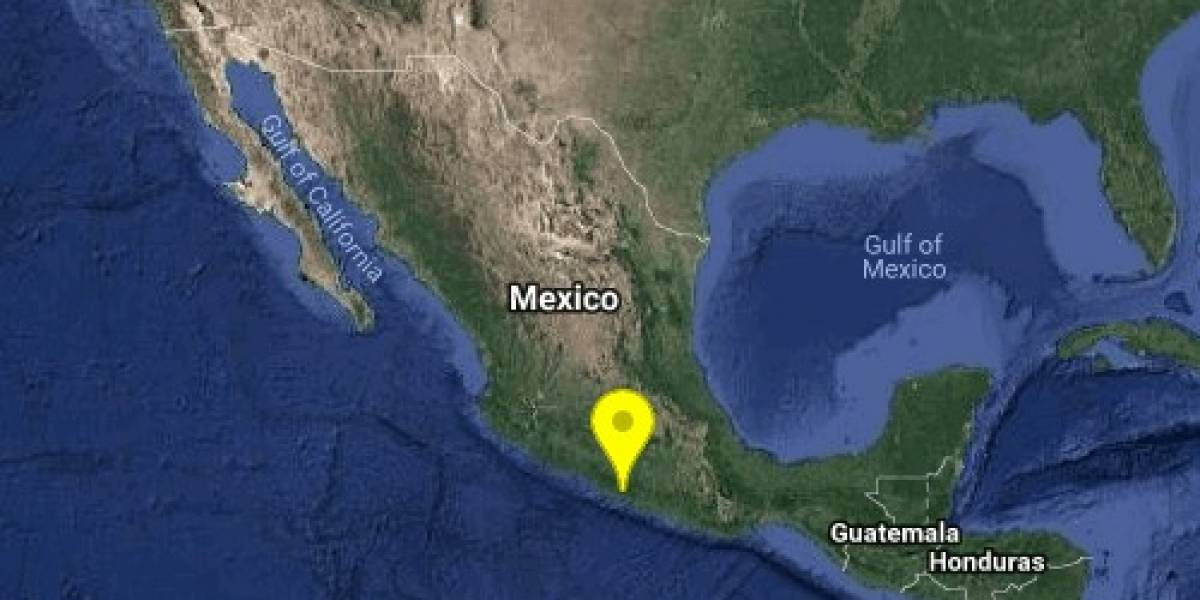Se registra sismo magnitud 5.1 en Guerrero