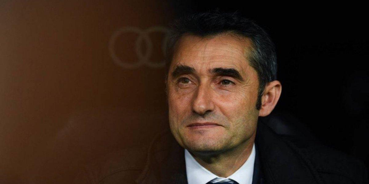 """Valverde no se confía en el Barça de Vidal: """"Nunca es un partido ideal para dosificar, menos a Messi"""""""