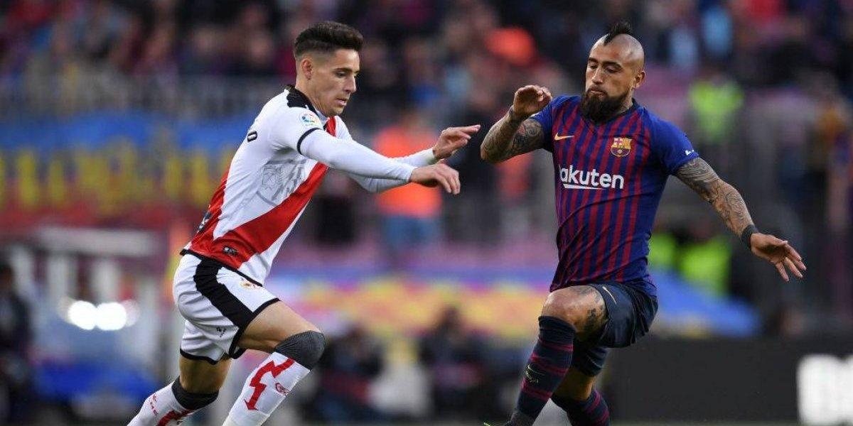 """""""Compitió como nadie"""": En Barcelona se rinden ante el nivel de Vidal y lo piden como titular para la Champions"""