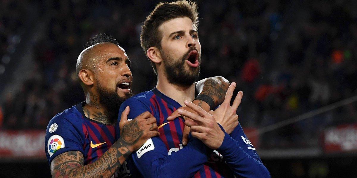 Barcelona ganó con autoridad en unos de los mejores partidos de Vidal en el Camp Nou
