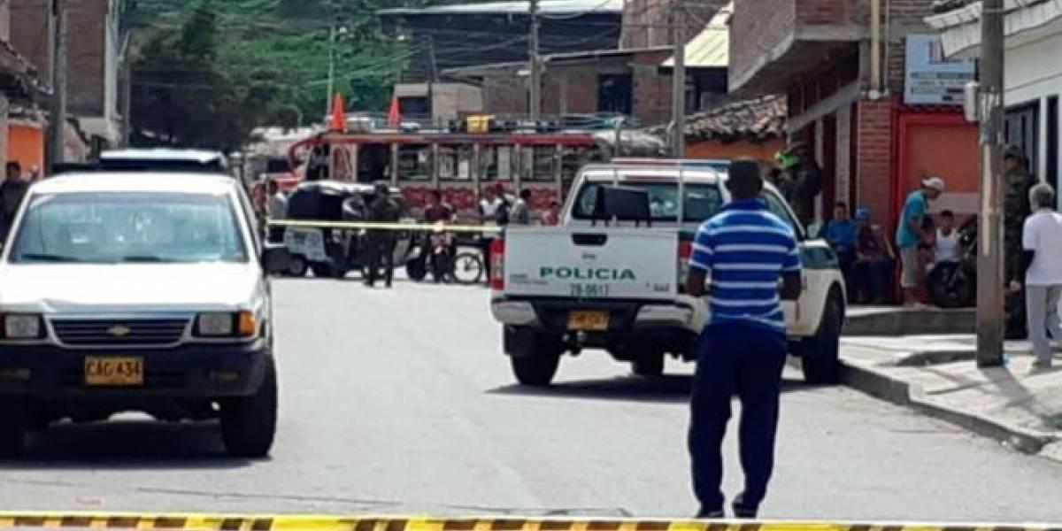 Un policía muerto y otro herido en ataque de disidencias de Farc