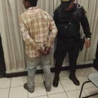 Luis Antonio Quevedo Mencos, capturado.