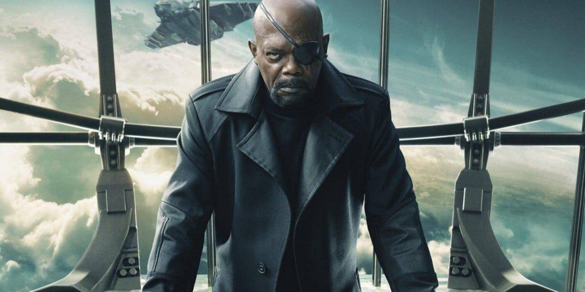 Capitana Marvel: Se revela como perdió su ojo Nick Fury
