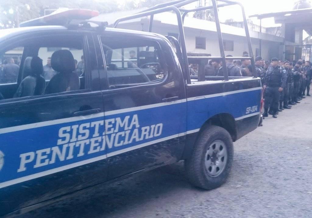 El Sistema Penitenciario realiza una requisa en la cárcel Pavoncito. Foto: SP