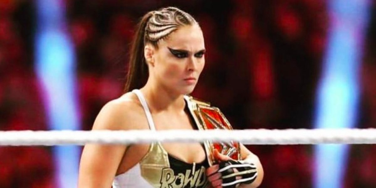"""""""A la mierda todos, la lucha libre no es real"""", Ronda Rousey estremece la WWE"""