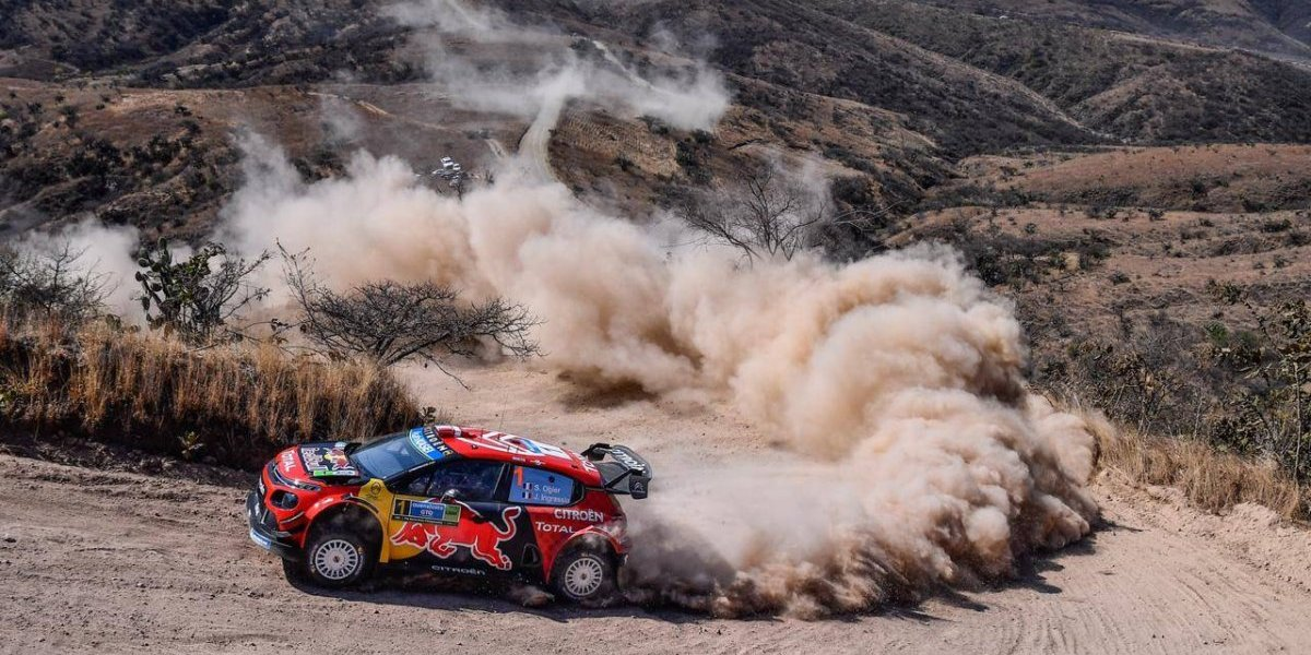 Sebastien Ogier lidera el Rally México tras segundo día; Meek y Tanak marchan tercero y cuarto