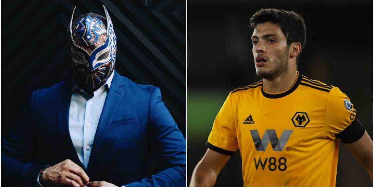 Sin Cara envía máscara especial a Raúl Jiménez