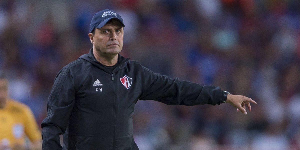 Séptimo técnico despedido: Guillermo Hoyos, fuera del Atlas