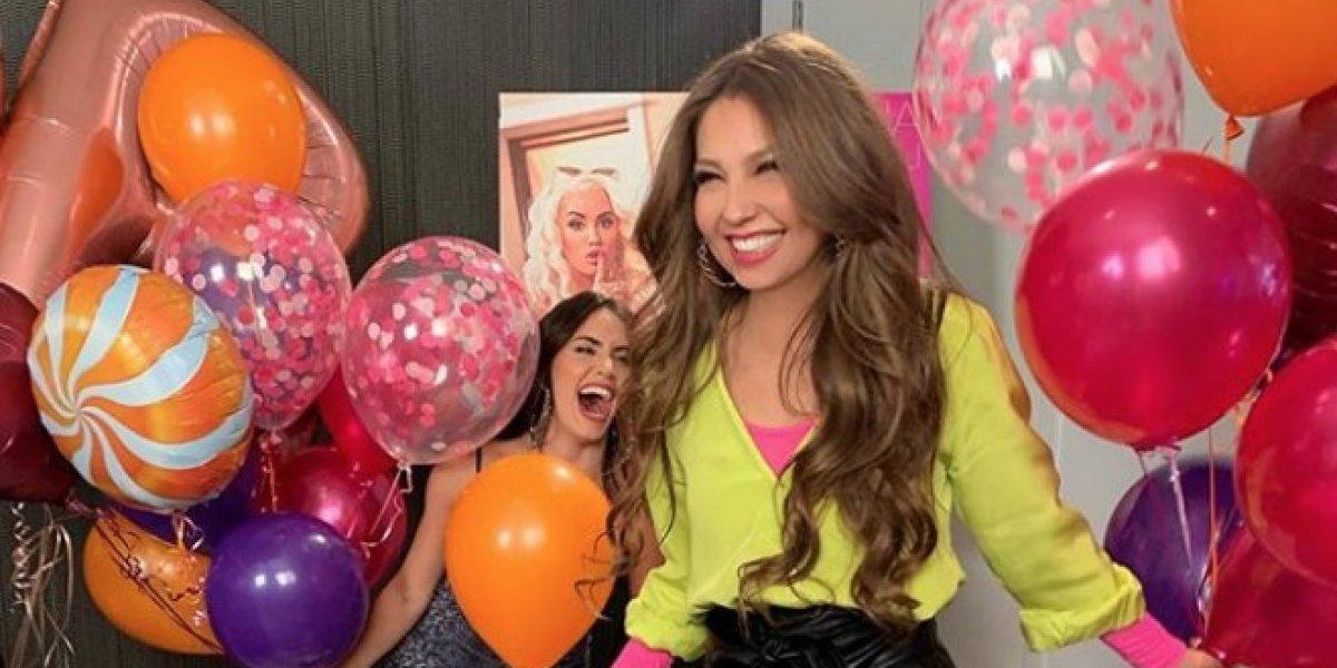 Thalía: La sorpresiva manera de conmemorar el Día de la Mujer