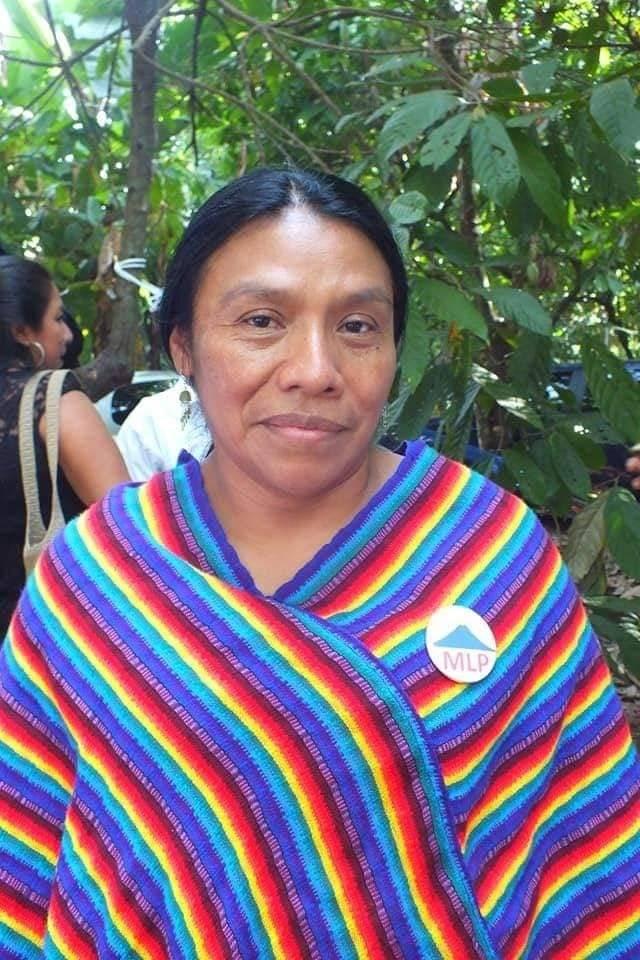 Thelma Cabrera, presidenciable por el MLP. Foto: MLP