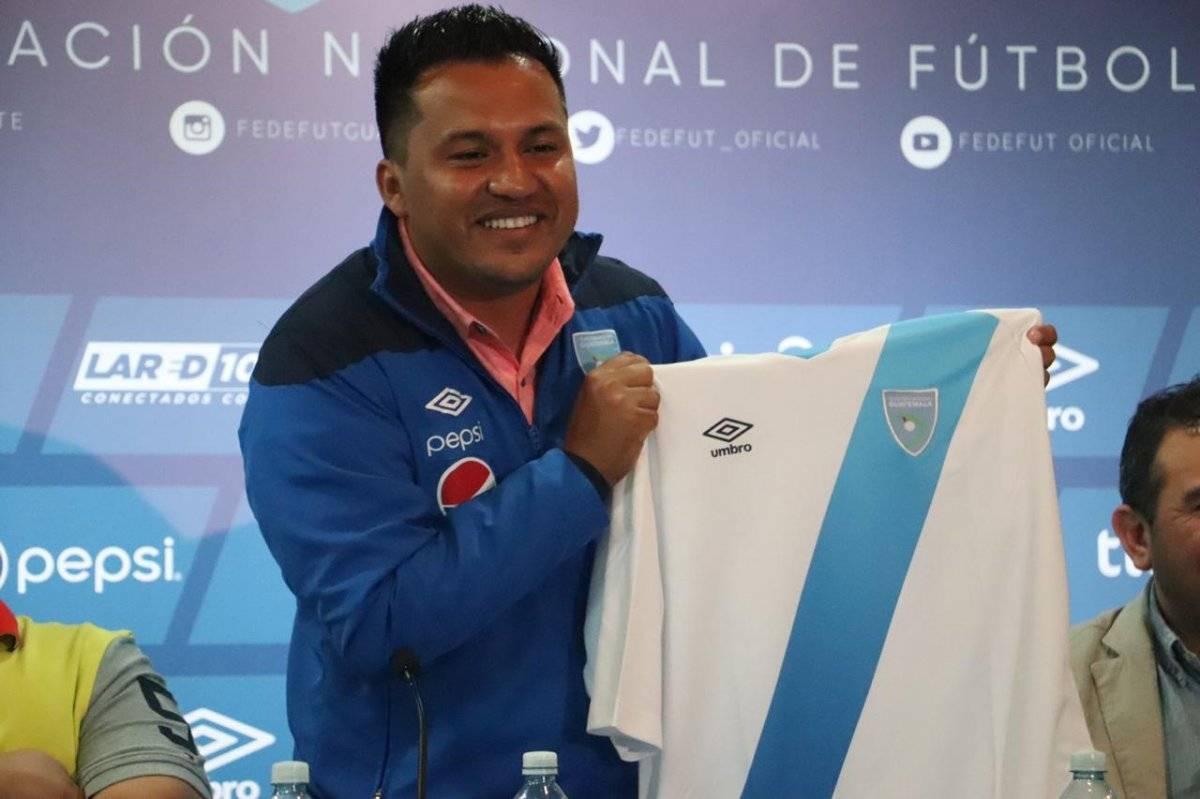 Presentación de Amarini Villatoro como DT de la Selección Nacional