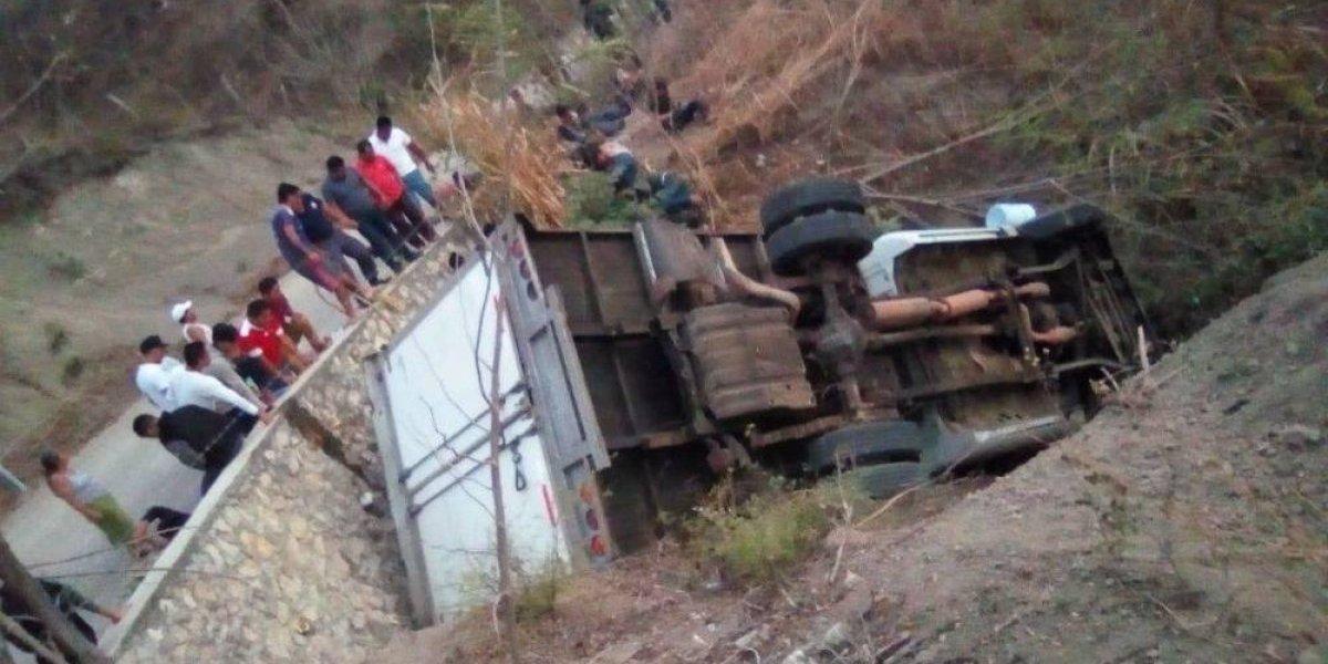 Muerte de migrantes en Chiapas fue por falta de pericia del conductor