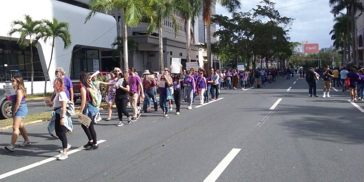 Conductor aceleró contra protesta de mujeres en Hato Rey