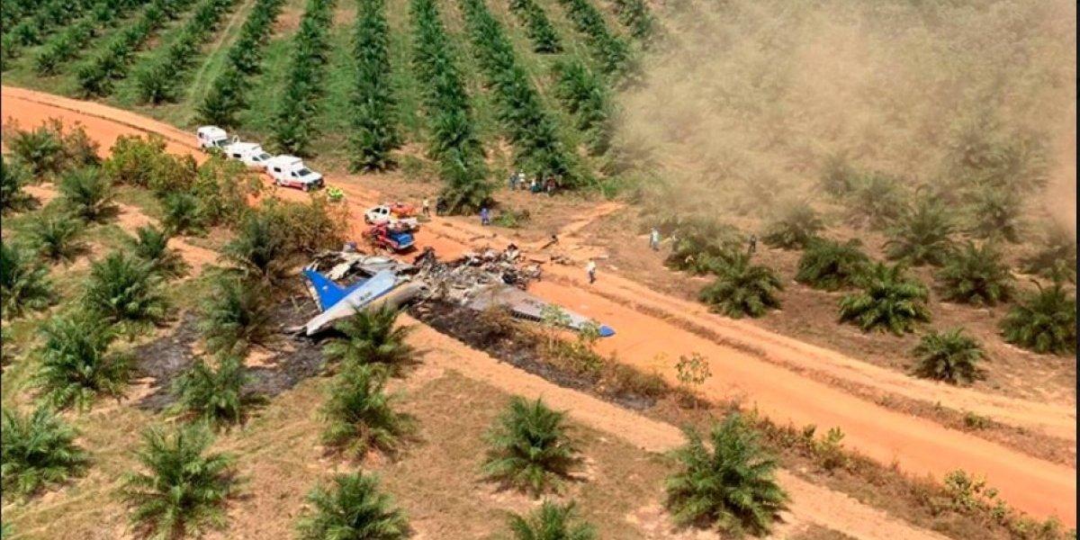 Tragedia aérea enlutece a Colombia