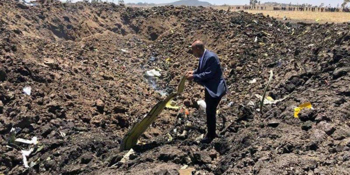 Se estrella avión en Etiopía con 157 personas a bordo