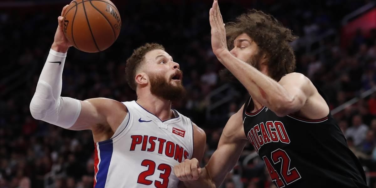 Blake Griffin y los Pistons ganan su quinto partido consecutivo