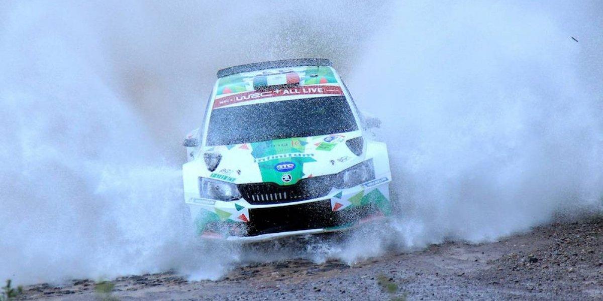Benito Guerra cumple y gana el WRC 2 del Rally México