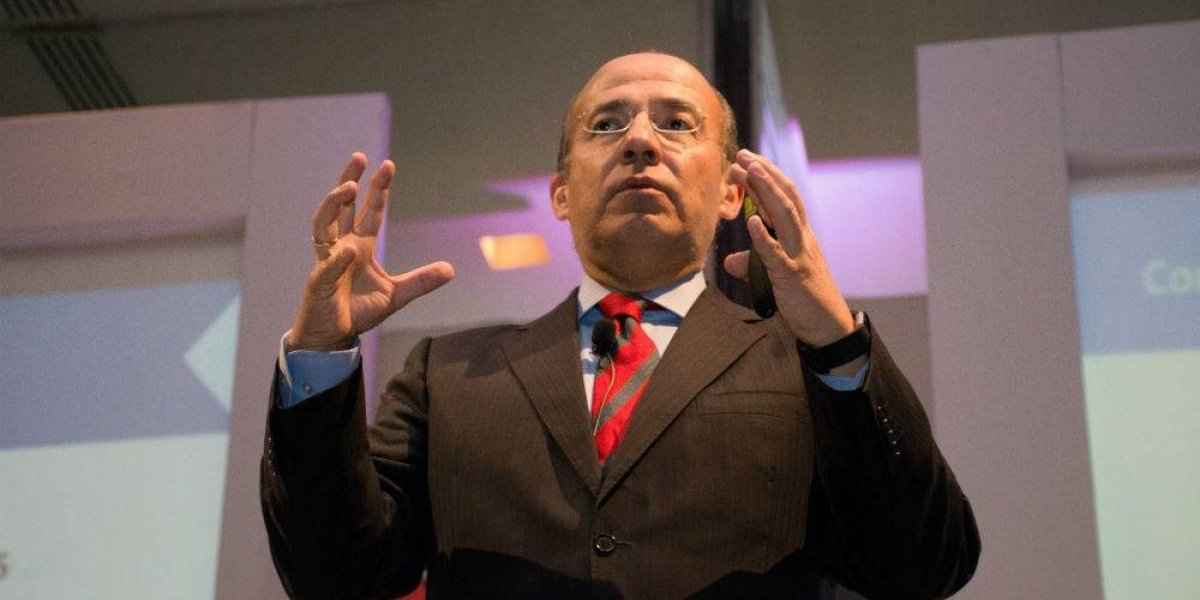 Calderón pide donaciones para México Libre