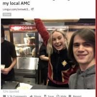Marvel: Así vivió Brie Larson el estreno de Capitana Marvel