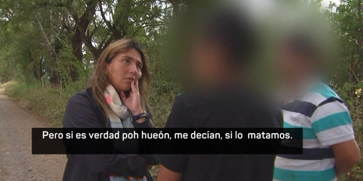 Impactante revelación del adolescente que estaba con Camilo Catrillanca: fue testigo de cómo el sargento Ávila borró la memoria del casco