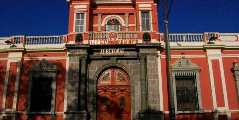Tribunal Supremo Electoral (TSE).